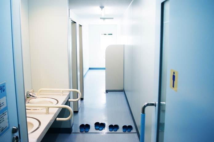 大房岬自然の家のトイレの写真