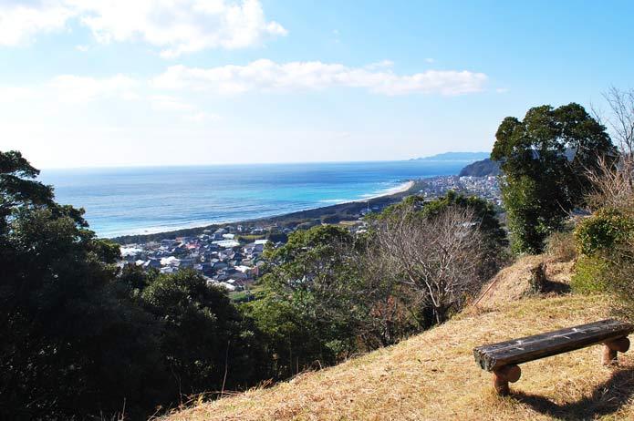 大房岬第二展望台からの風景