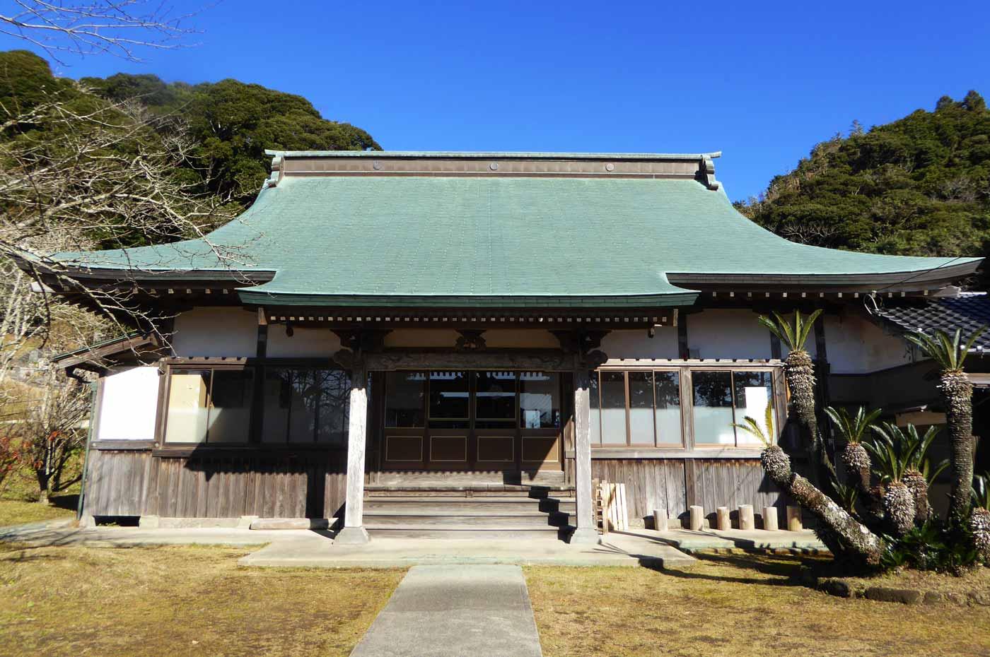福生寺の本堂の写真