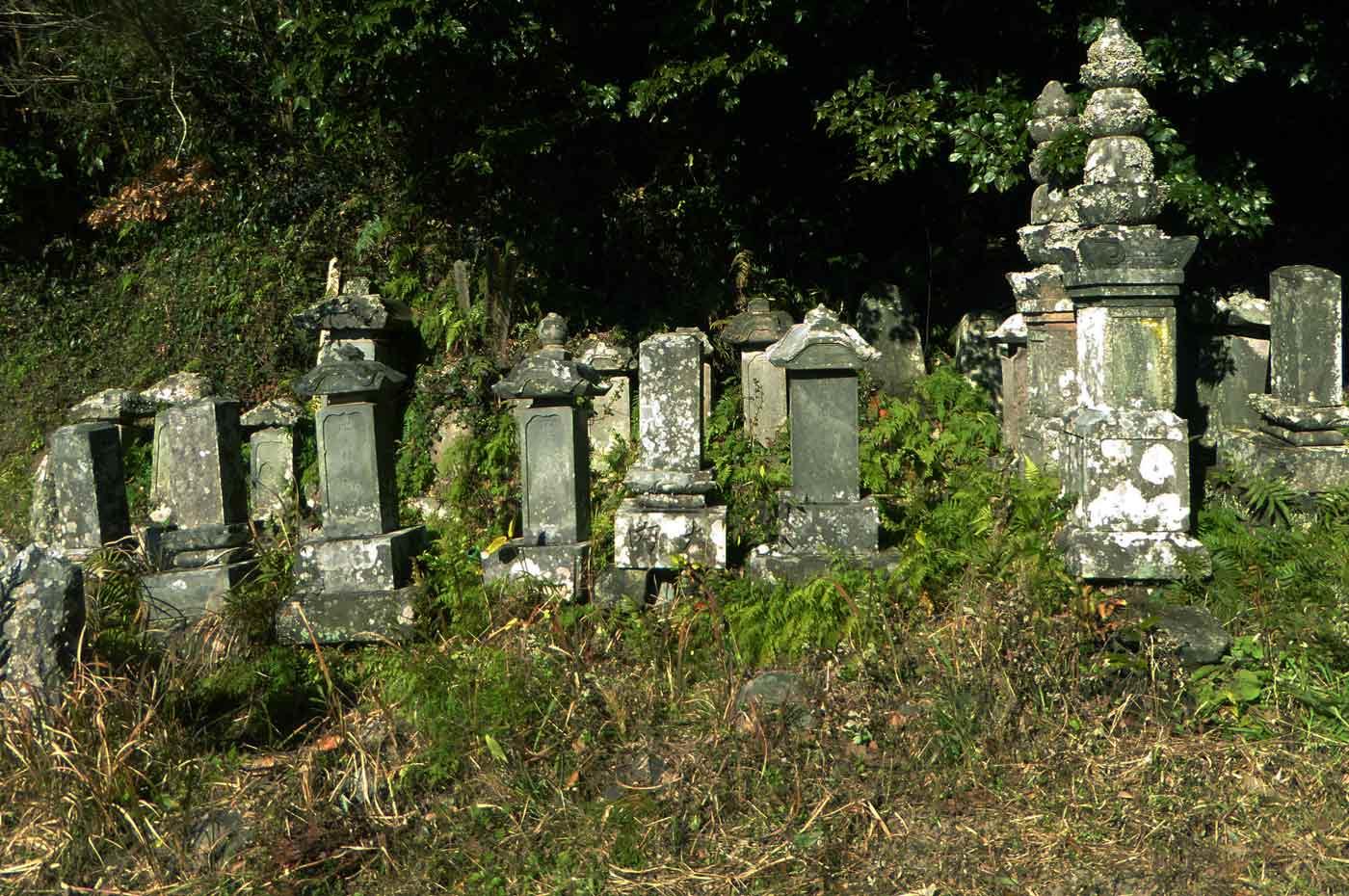 石井弥五右衛門盛次夫妻の墓