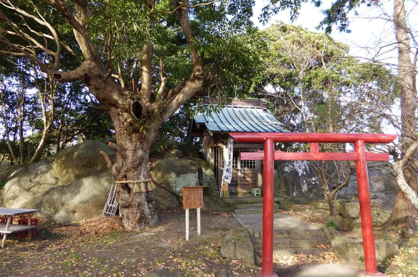 平舘天神社の拝殿の写真