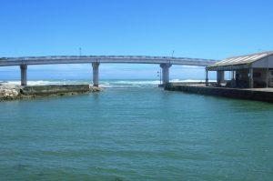 白間津港の釣り場