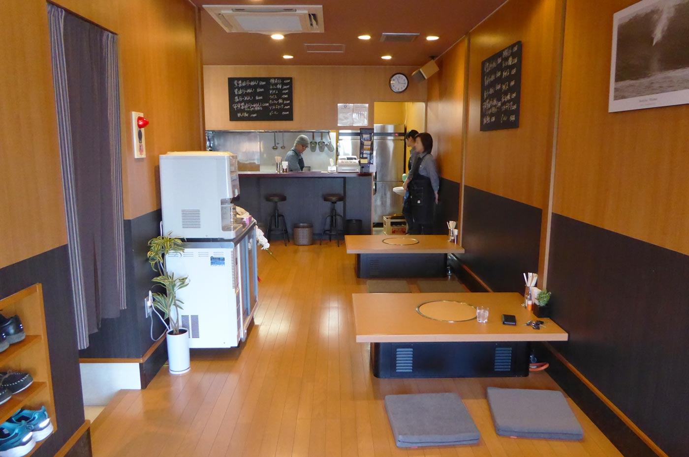麺屋安の店内の画像