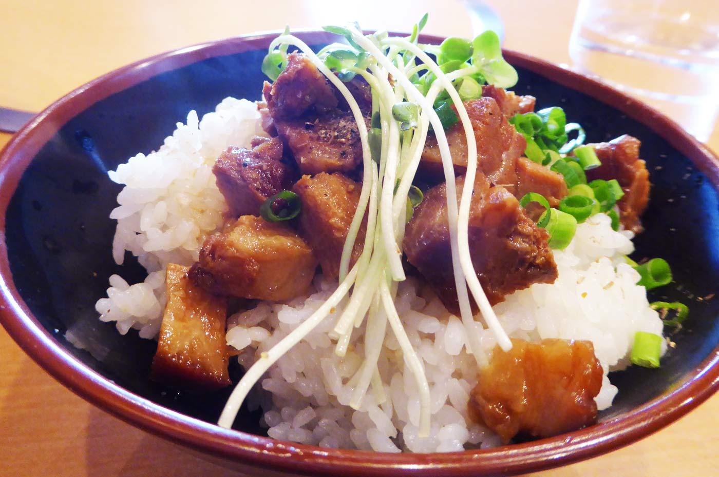 麺屋安のチャーシュー飯の画像