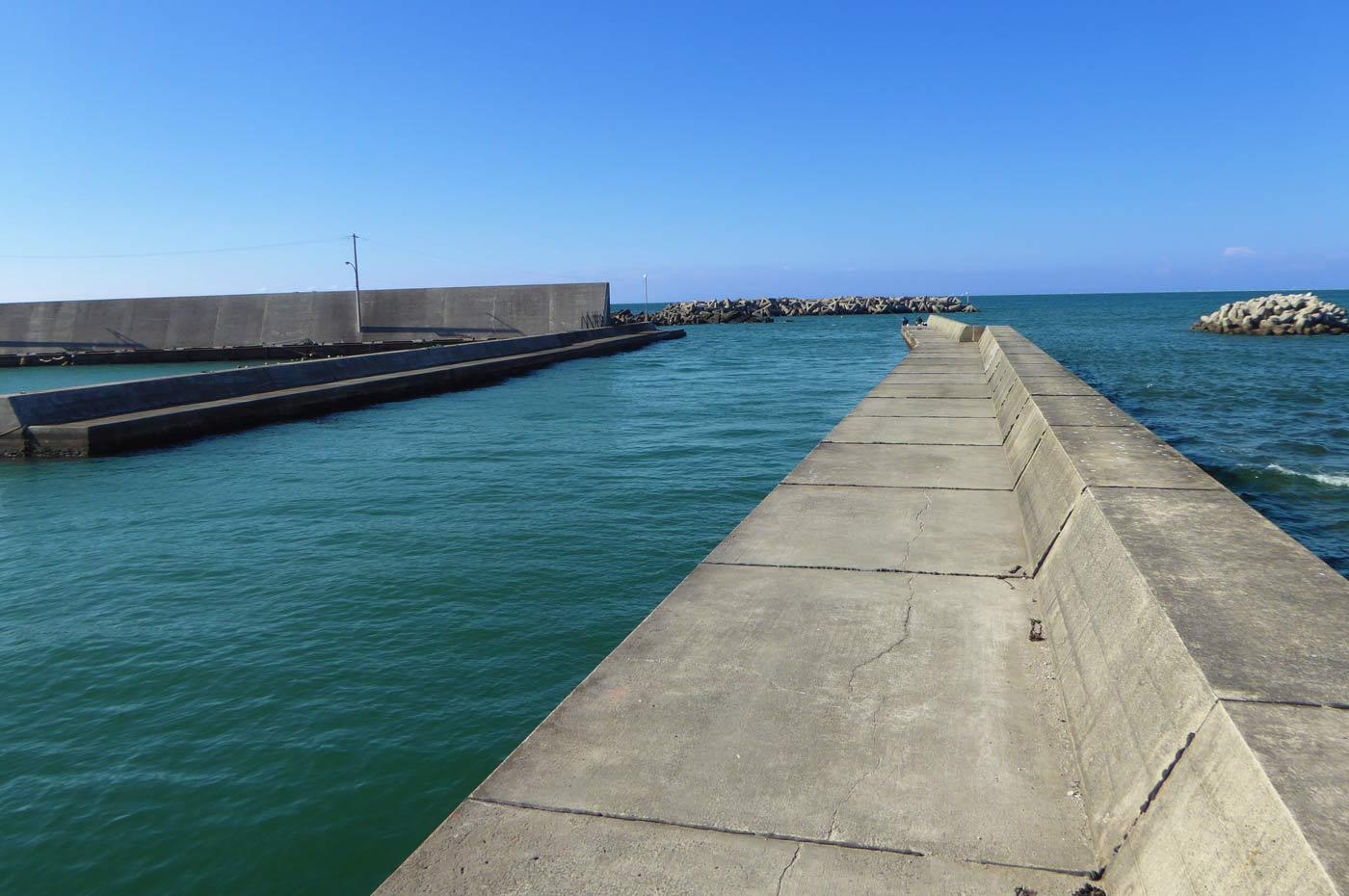 相浜港右側堤防の画像
