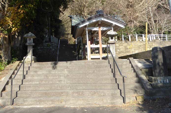 稲荷神社の参道の写真