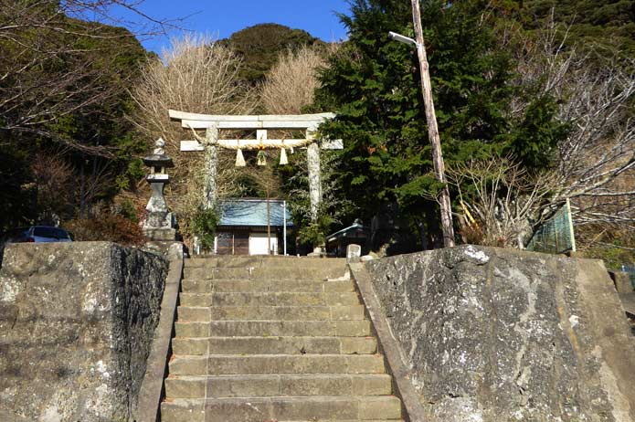 熊野神社の参道
