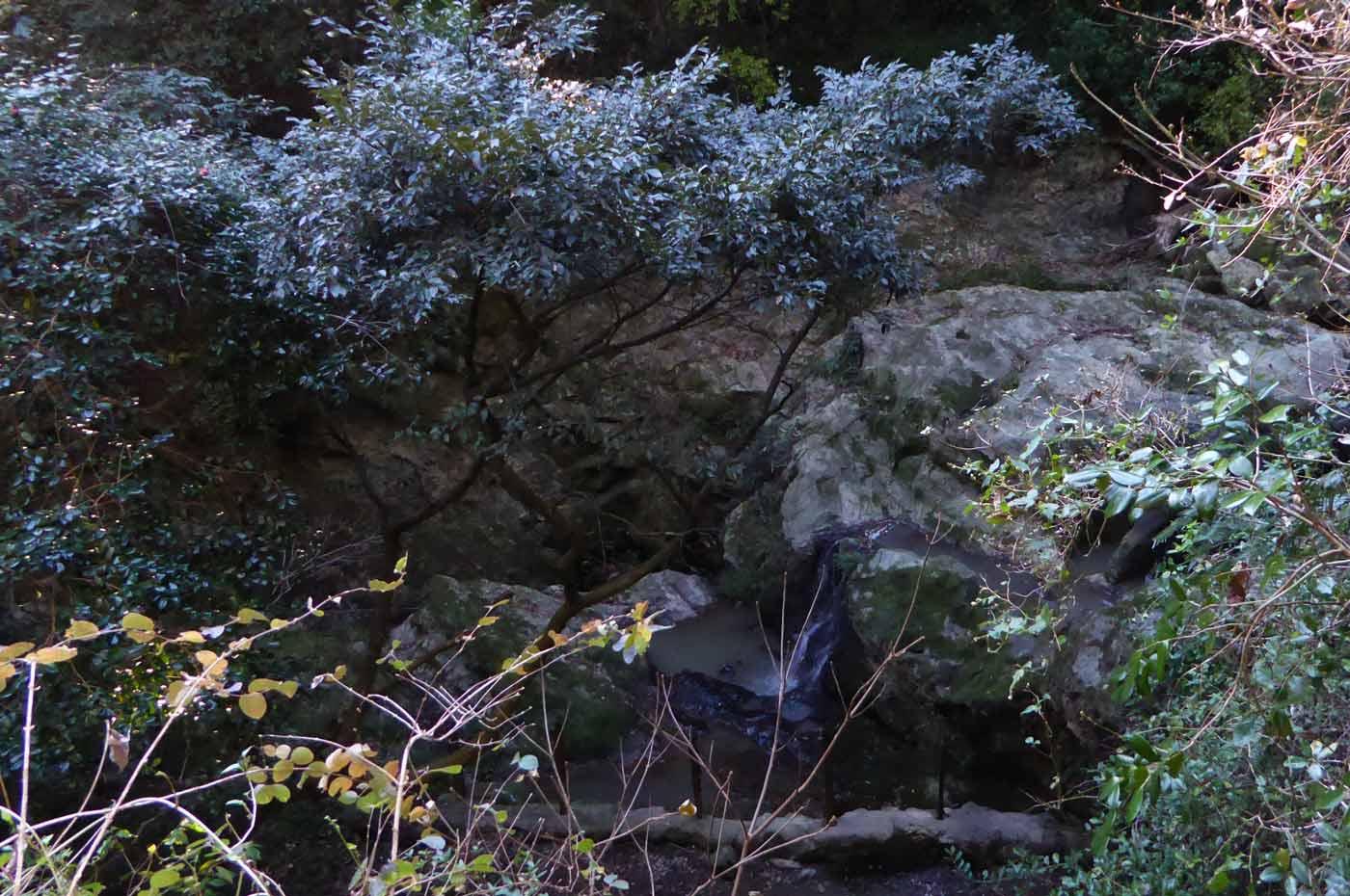太海不動滝の滝壺