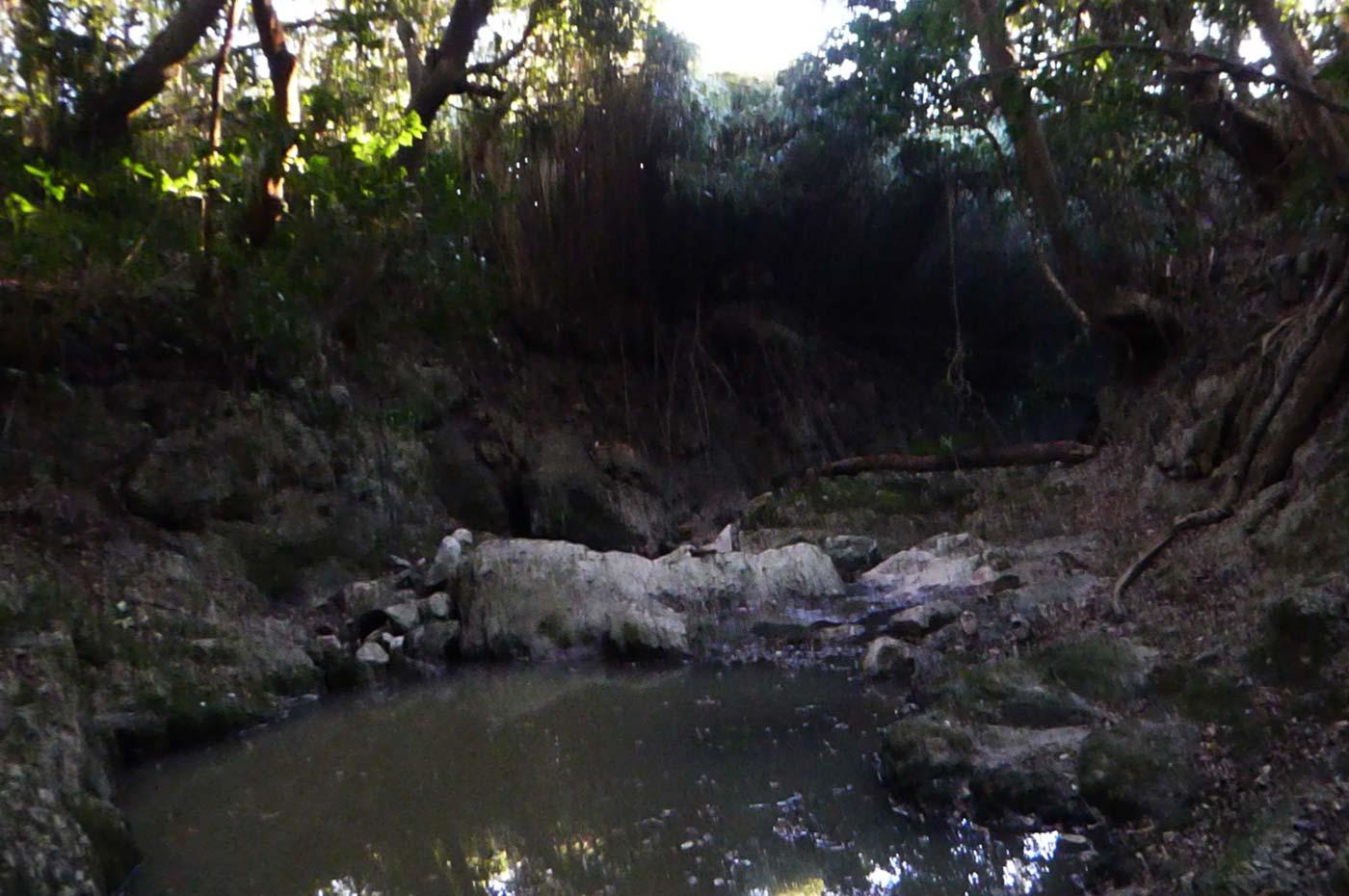名馬川の画像