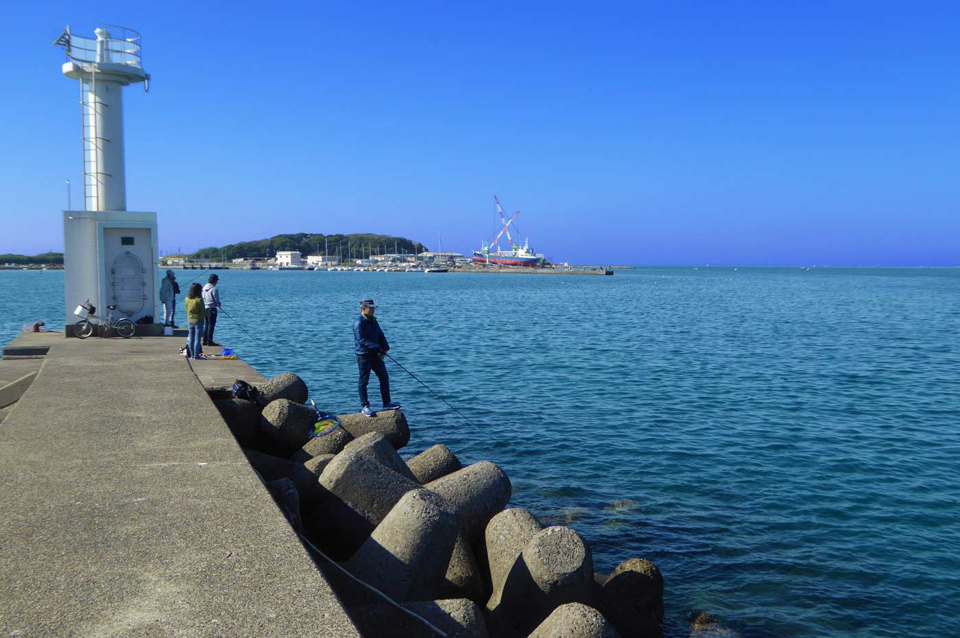 白灯台付近の画像