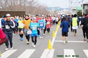 若潮マラソンの様子