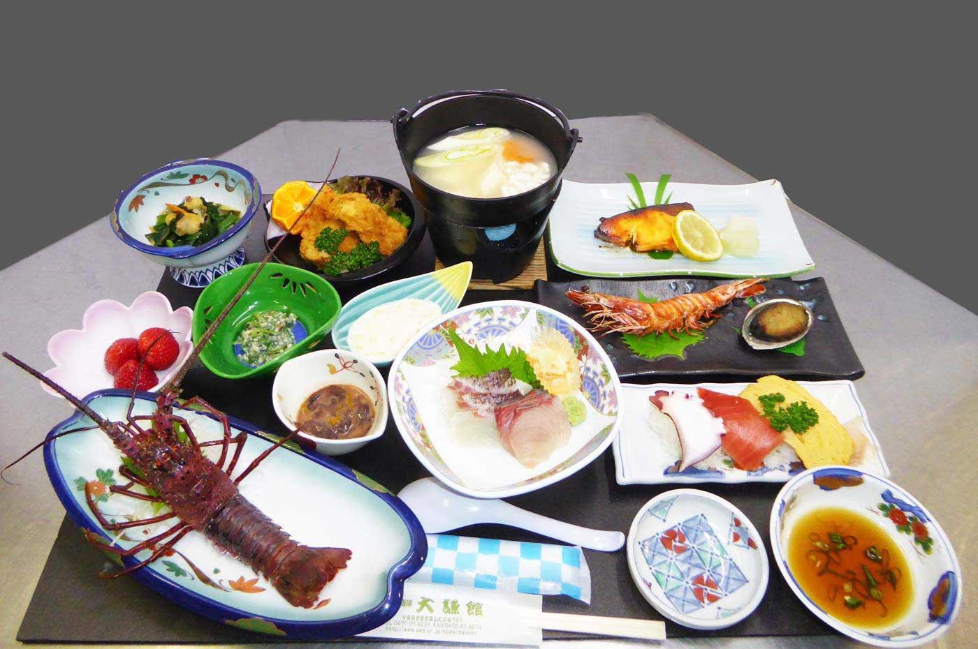 大謙館の料理の画像