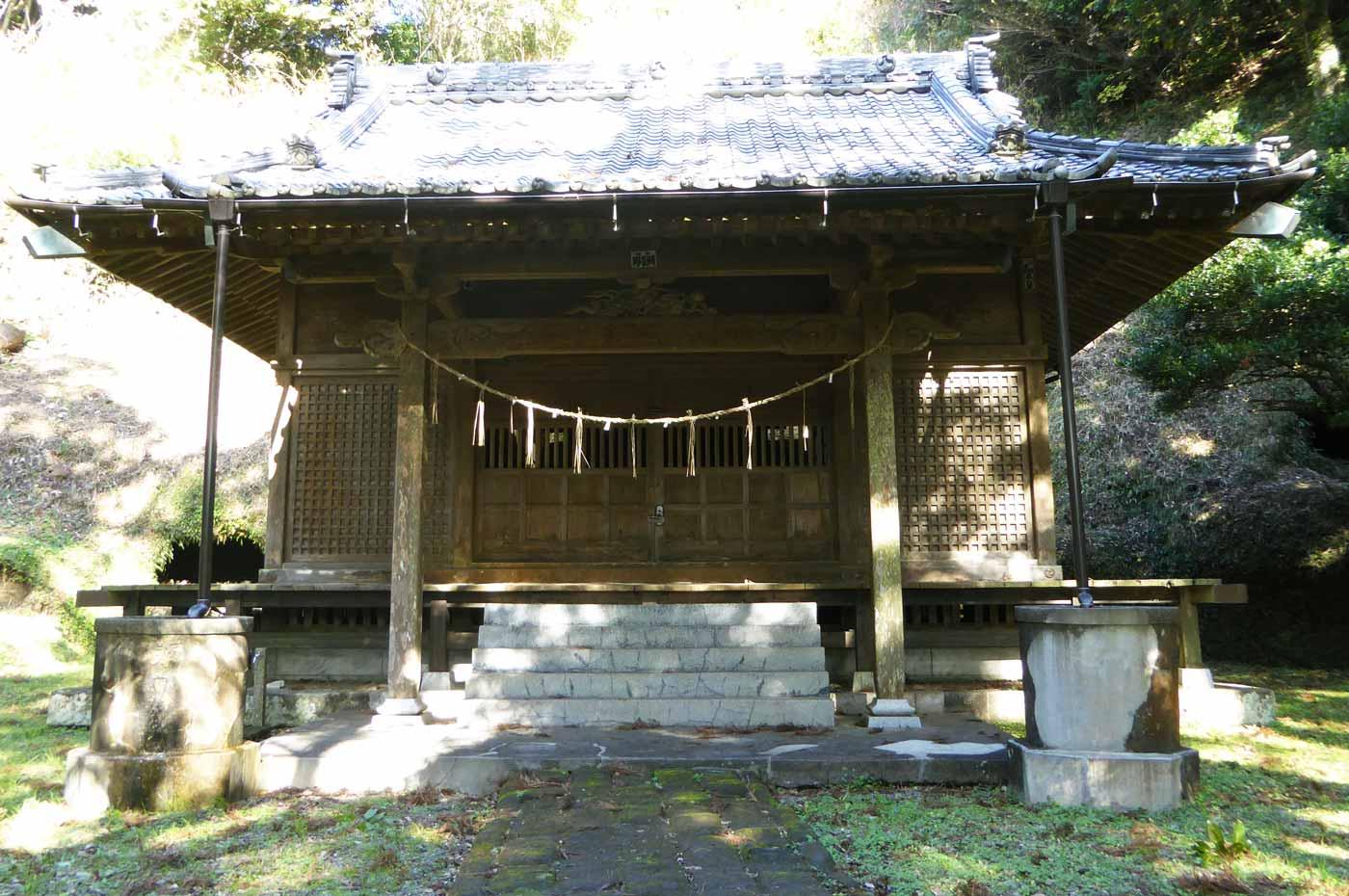 八幡神社(館山市南条)本殿の画像