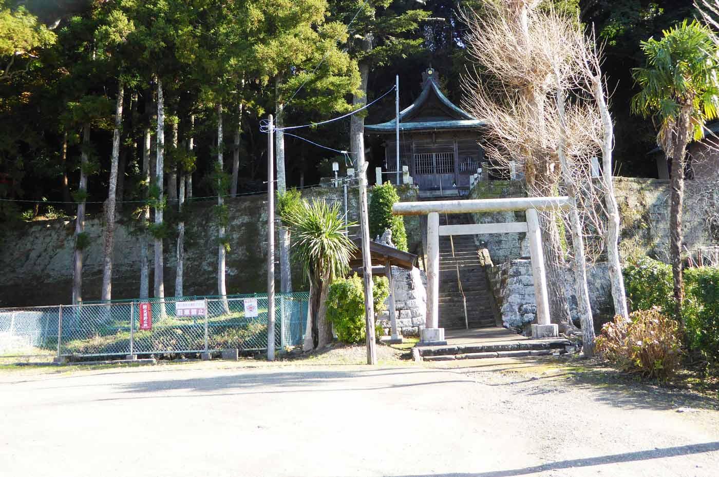 日枝神社駐車場の画像