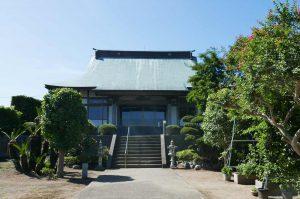 浄閑寺の本堂