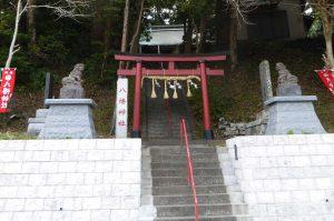 安馬谷八幡神社の鳥居