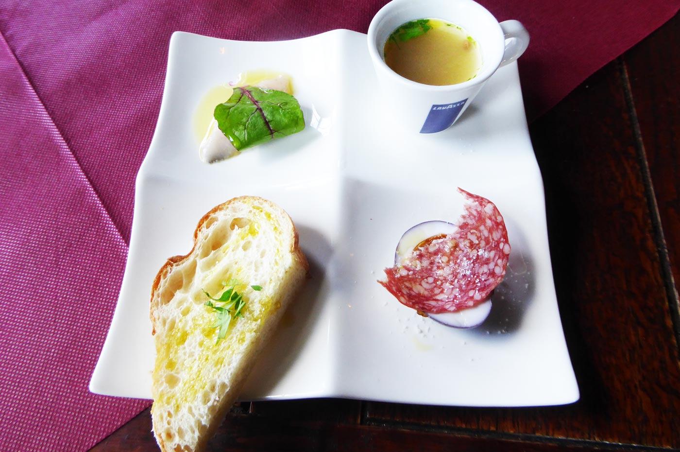 4種前菜の画像