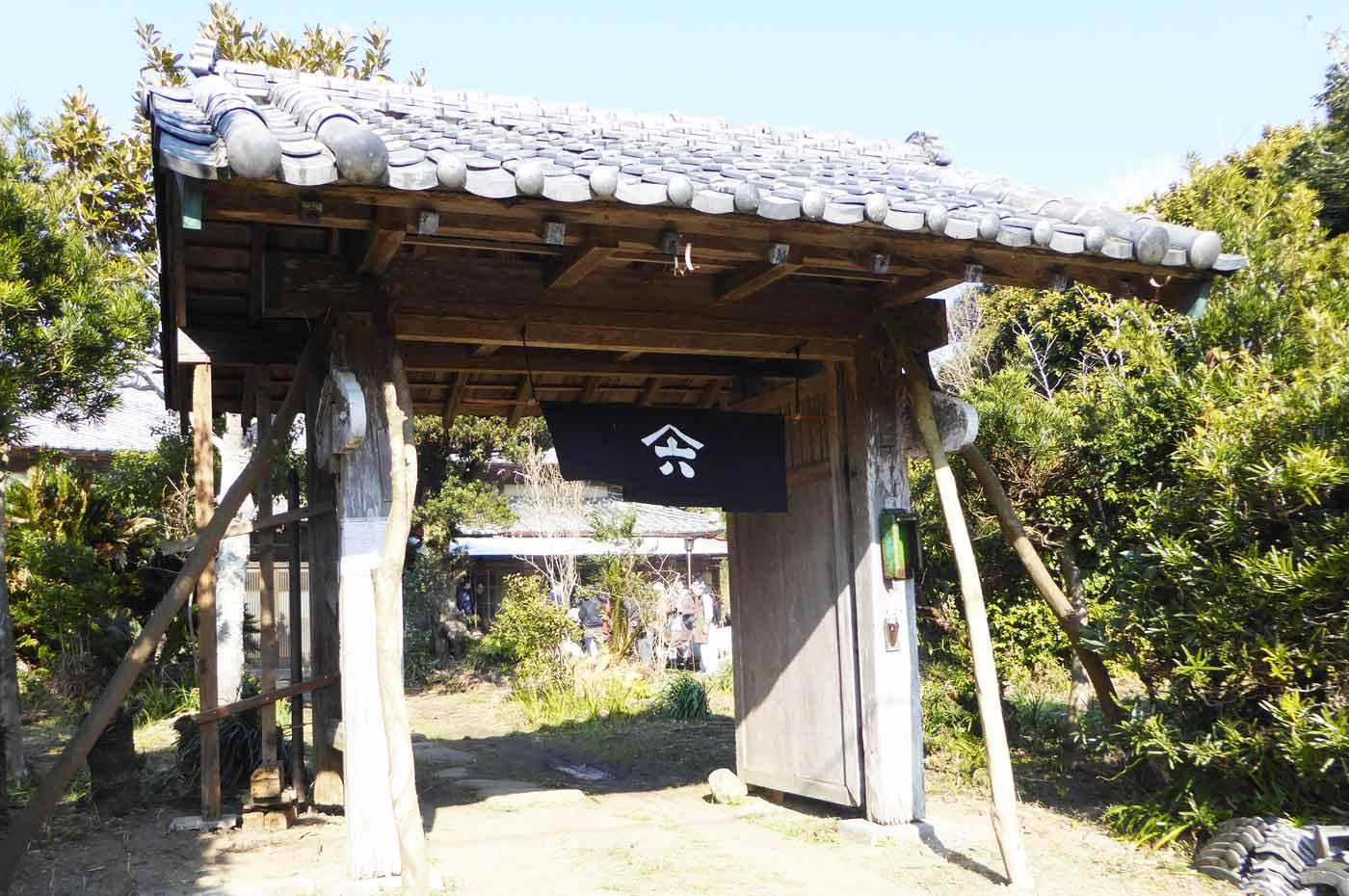 六郎右衛門の門の画像