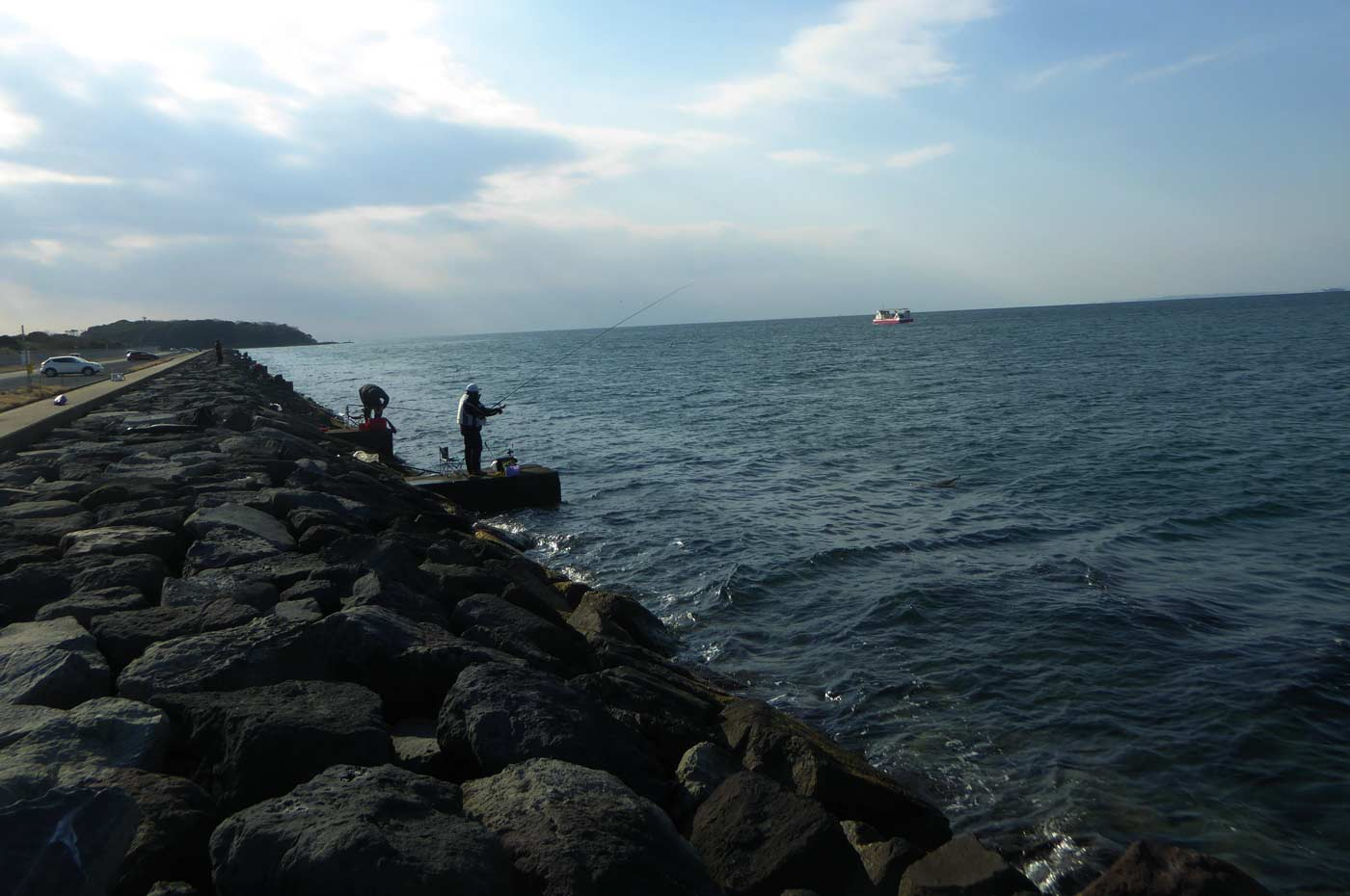沖ノ島寄りのお立ち台