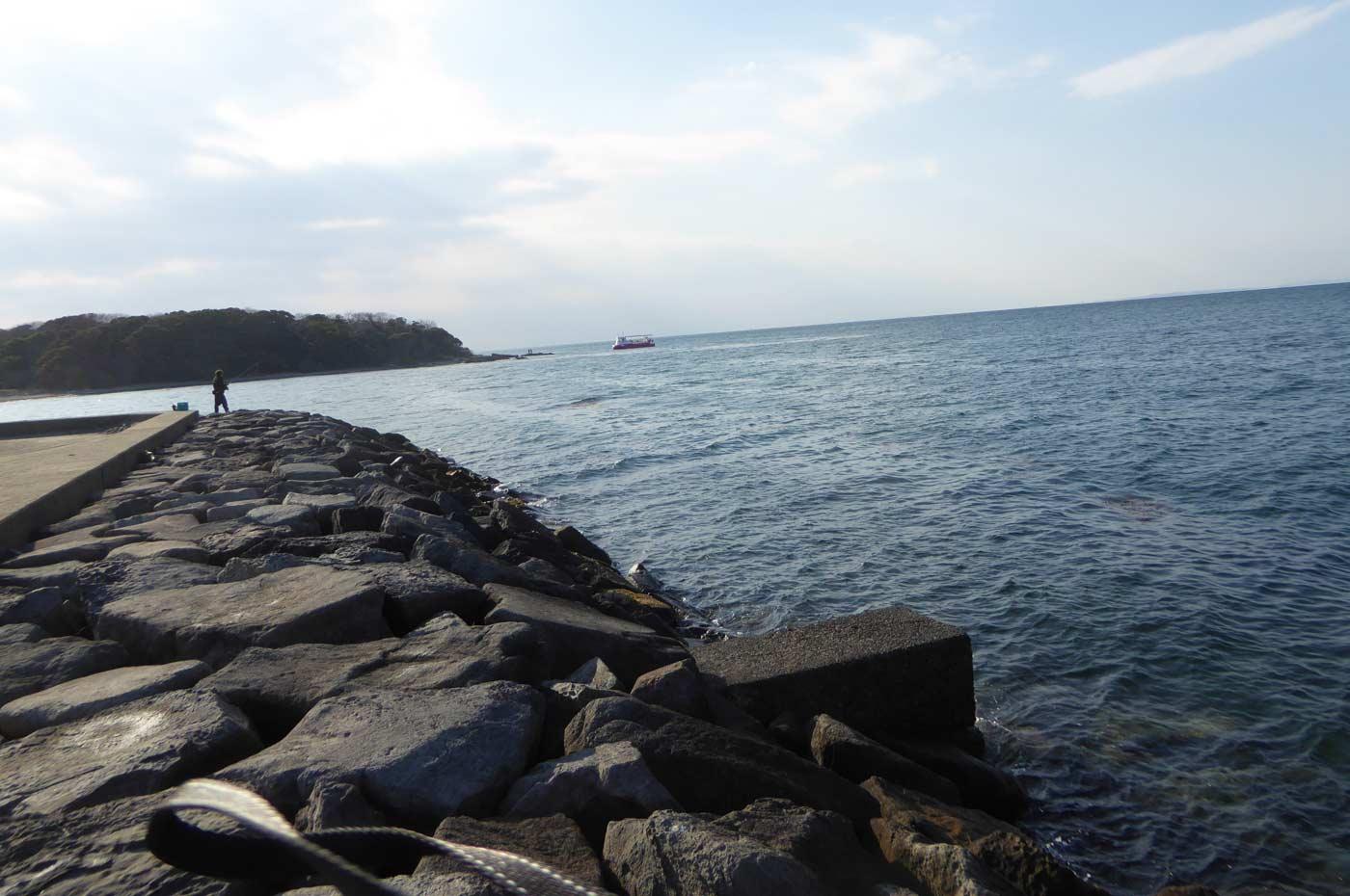 沖ノ島護岸