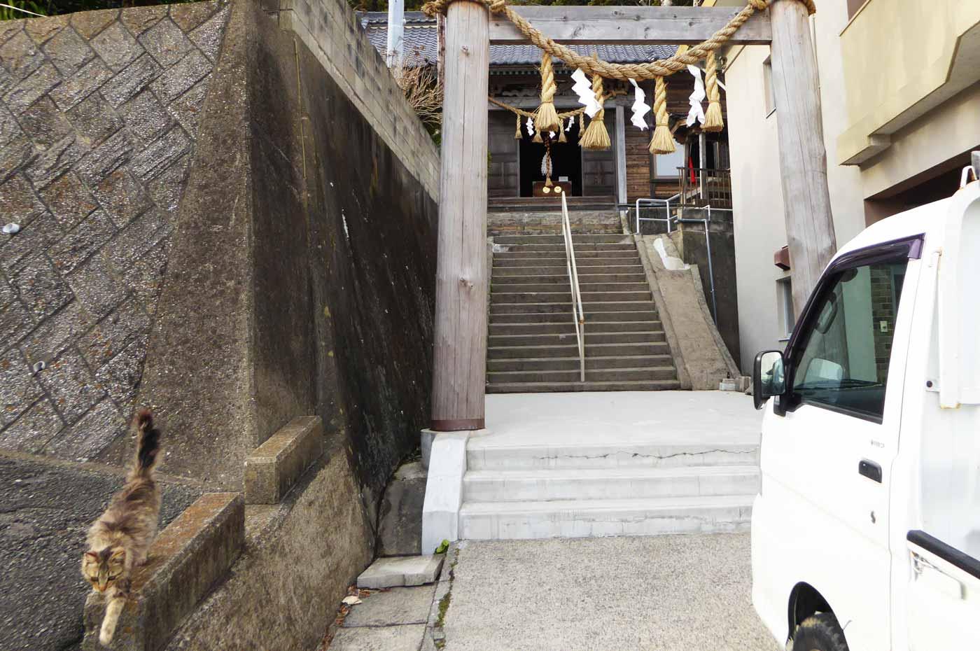 須賀神社(鴨川市天津)の拝殿