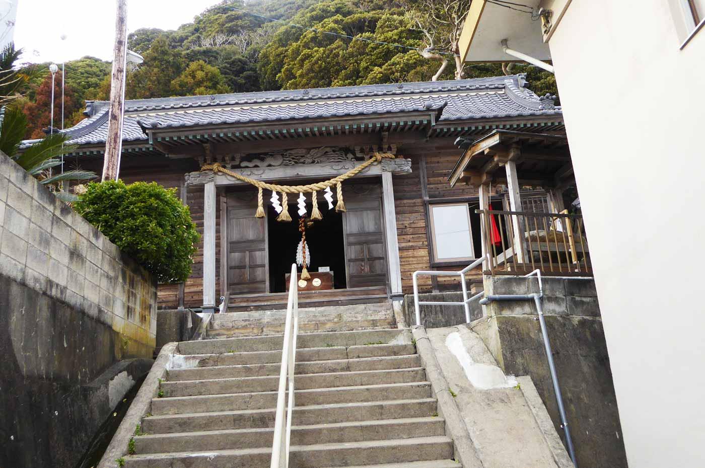 須賀神社拝殿の画像
