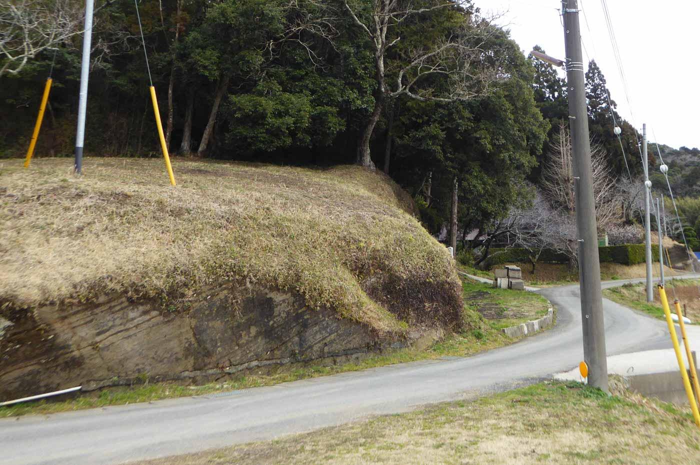 手力雄神社の駐車場