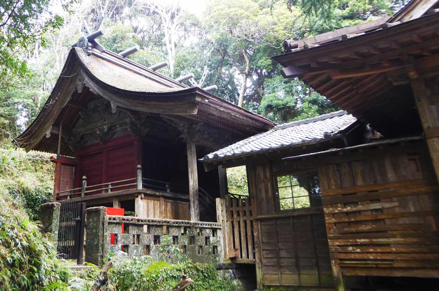 千葉県指定文化財の本殿