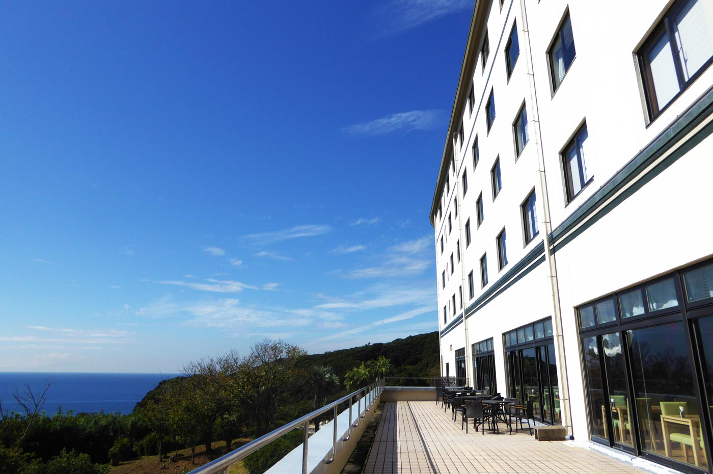 富浦ロイヤルホテルからの眺望