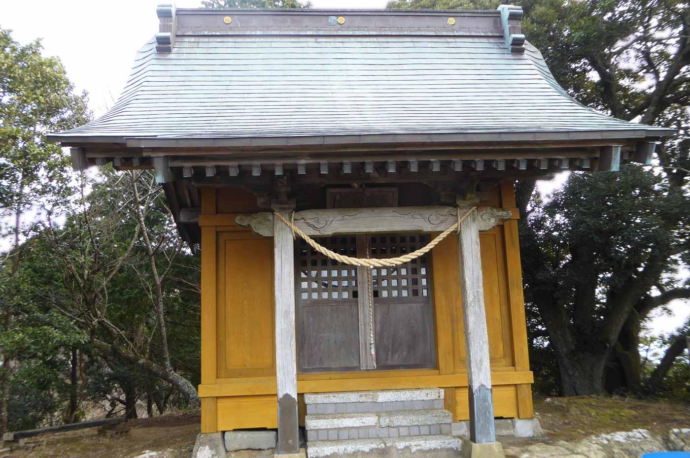 天富神社拝殿の画像