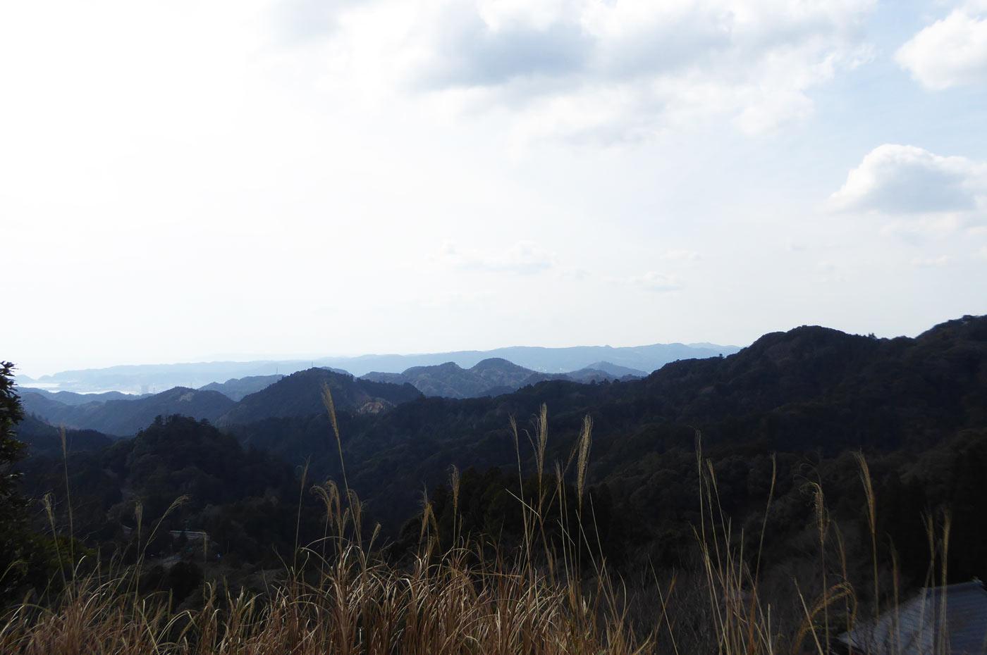 天富神社展望台からの眺望