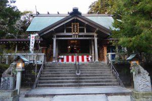 天津神明宮の拝殿