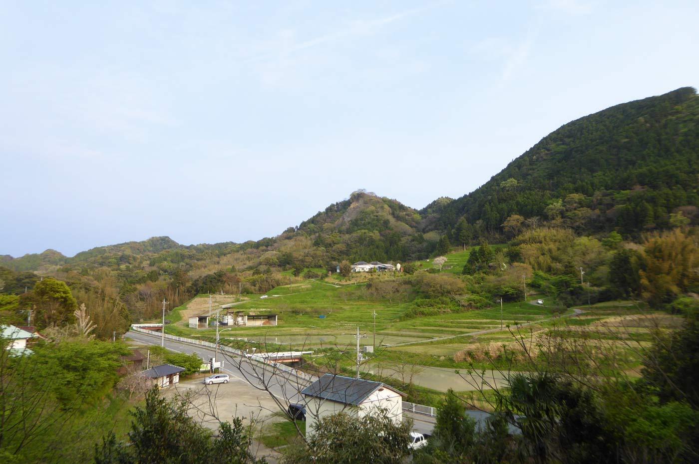 本堂裏山からの眺望