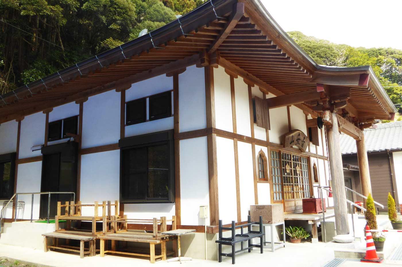 浪切寺本堂