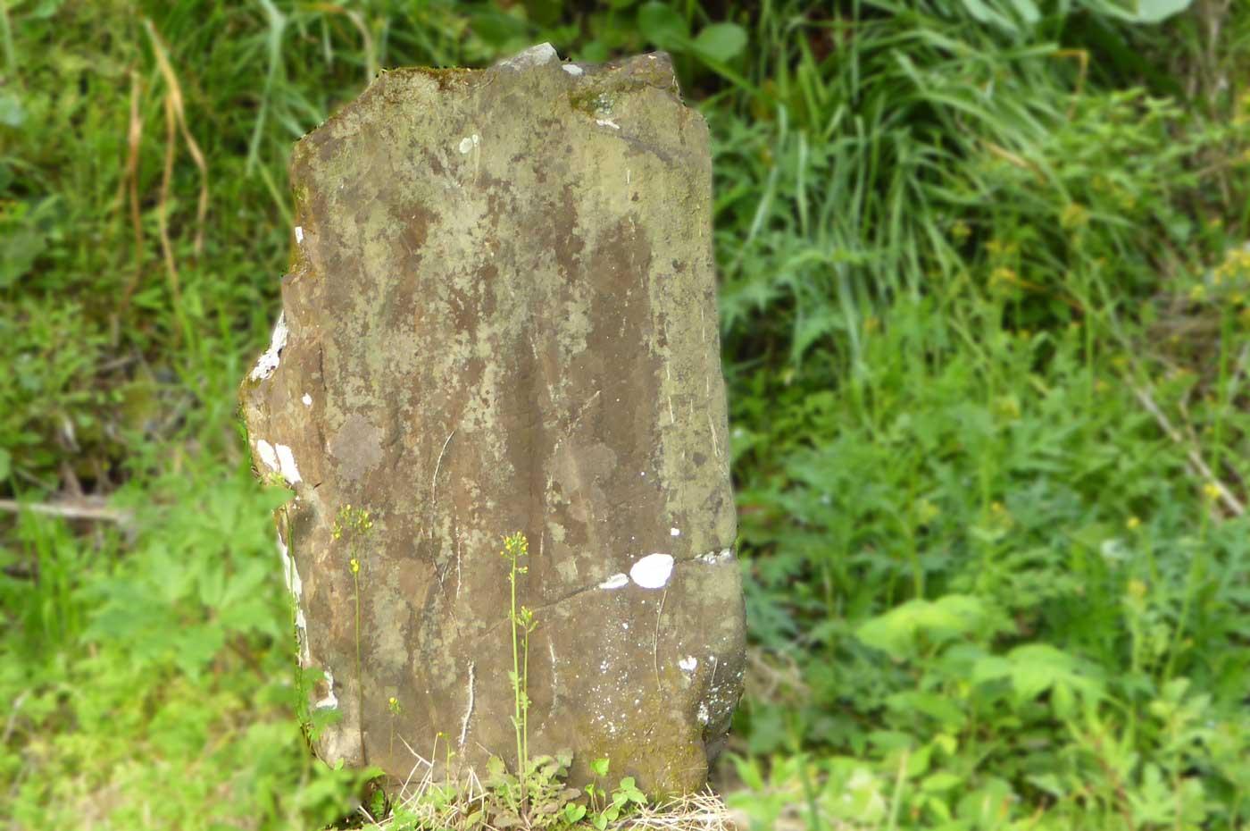 観音堂左の石碑