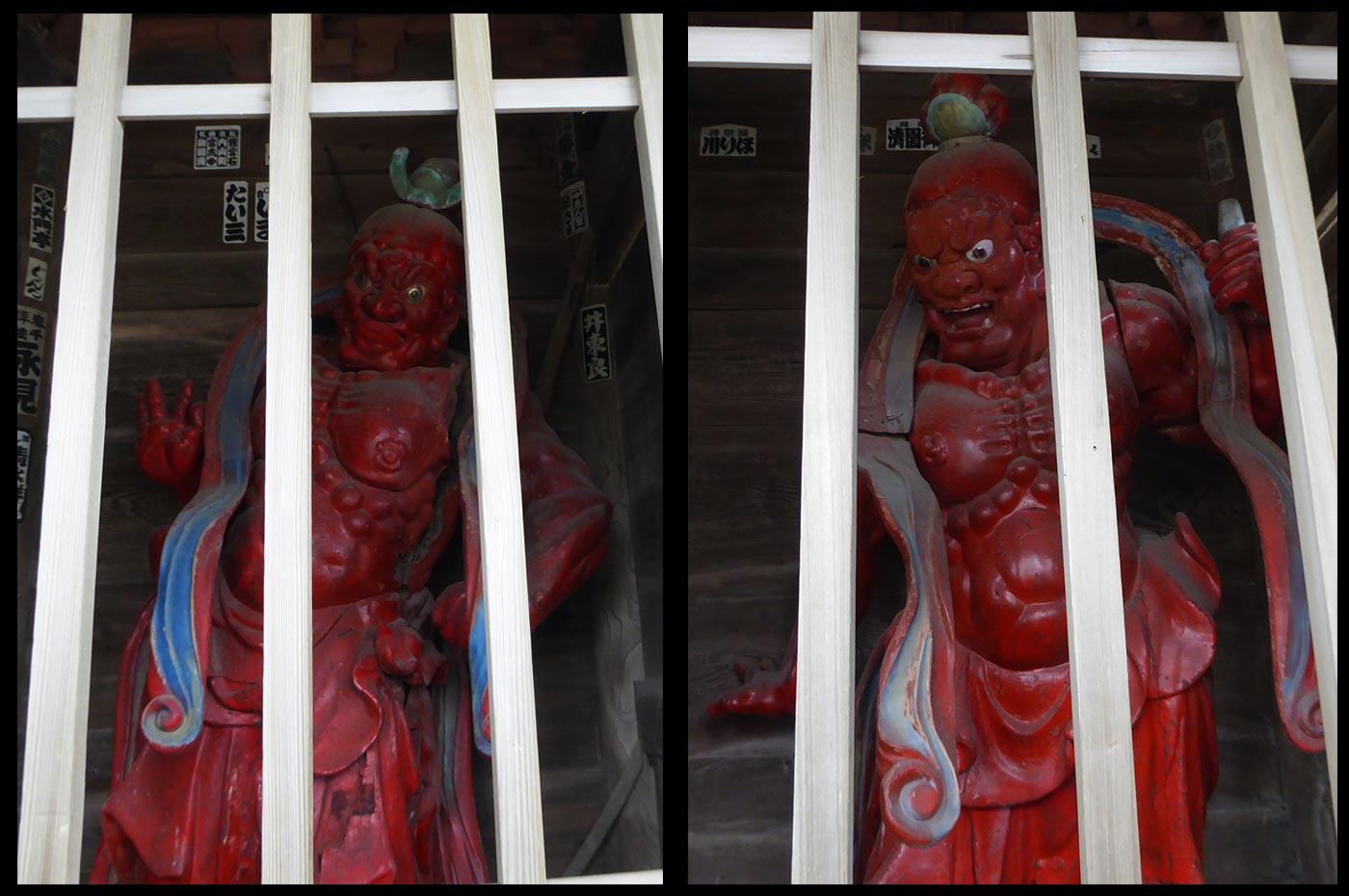天寧寺仁王像の画像