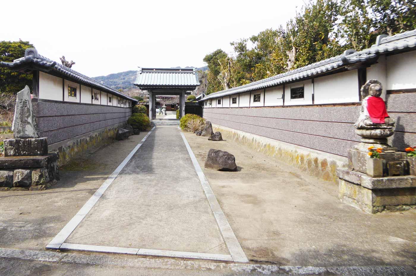 存林寺入口の画像