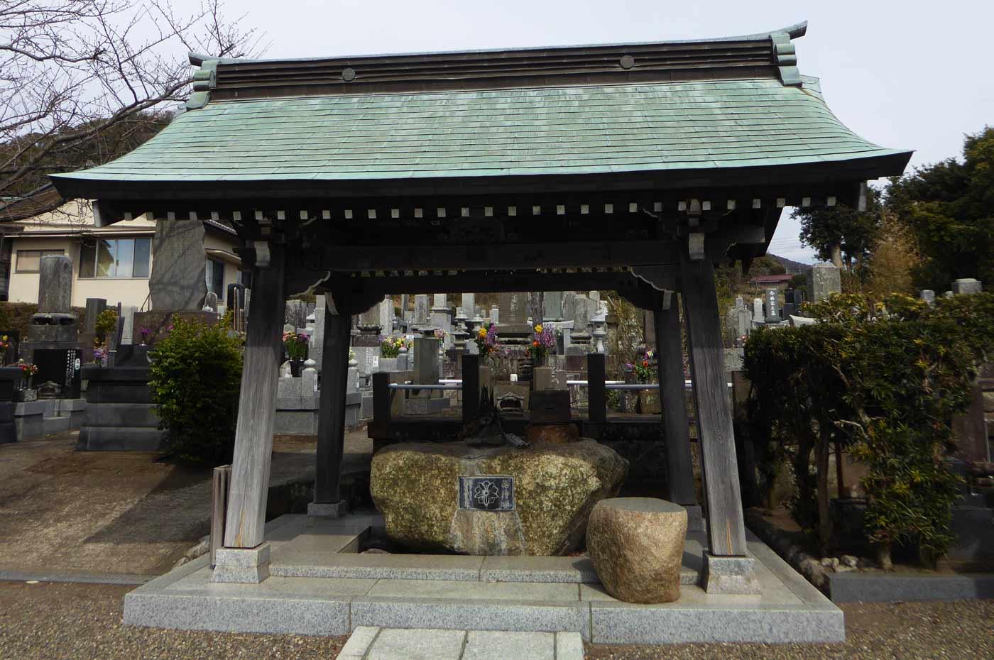 存林寺の手水舎