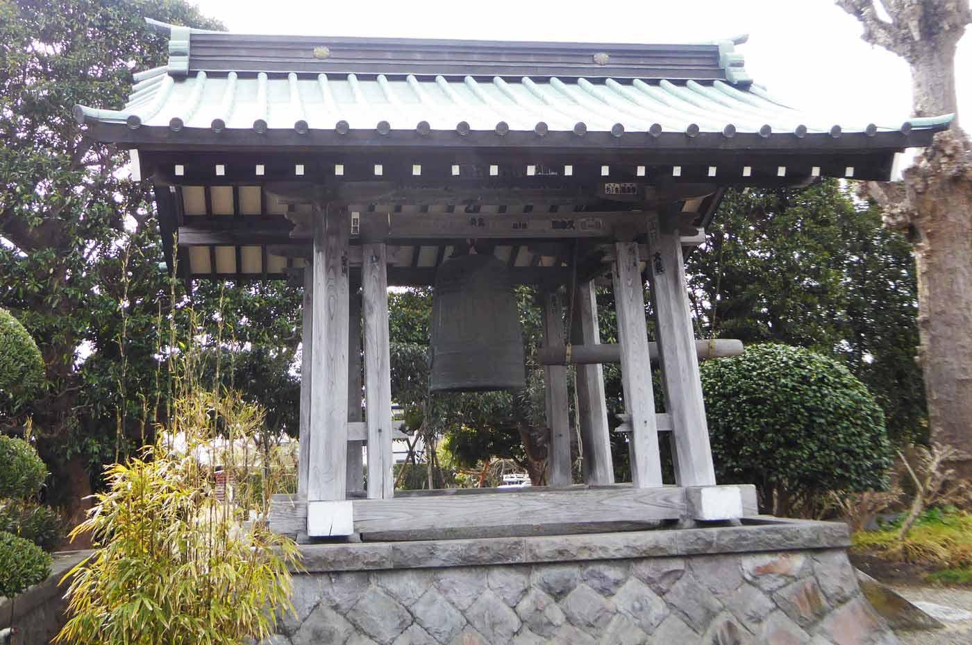 存林寺の鐘楼塔