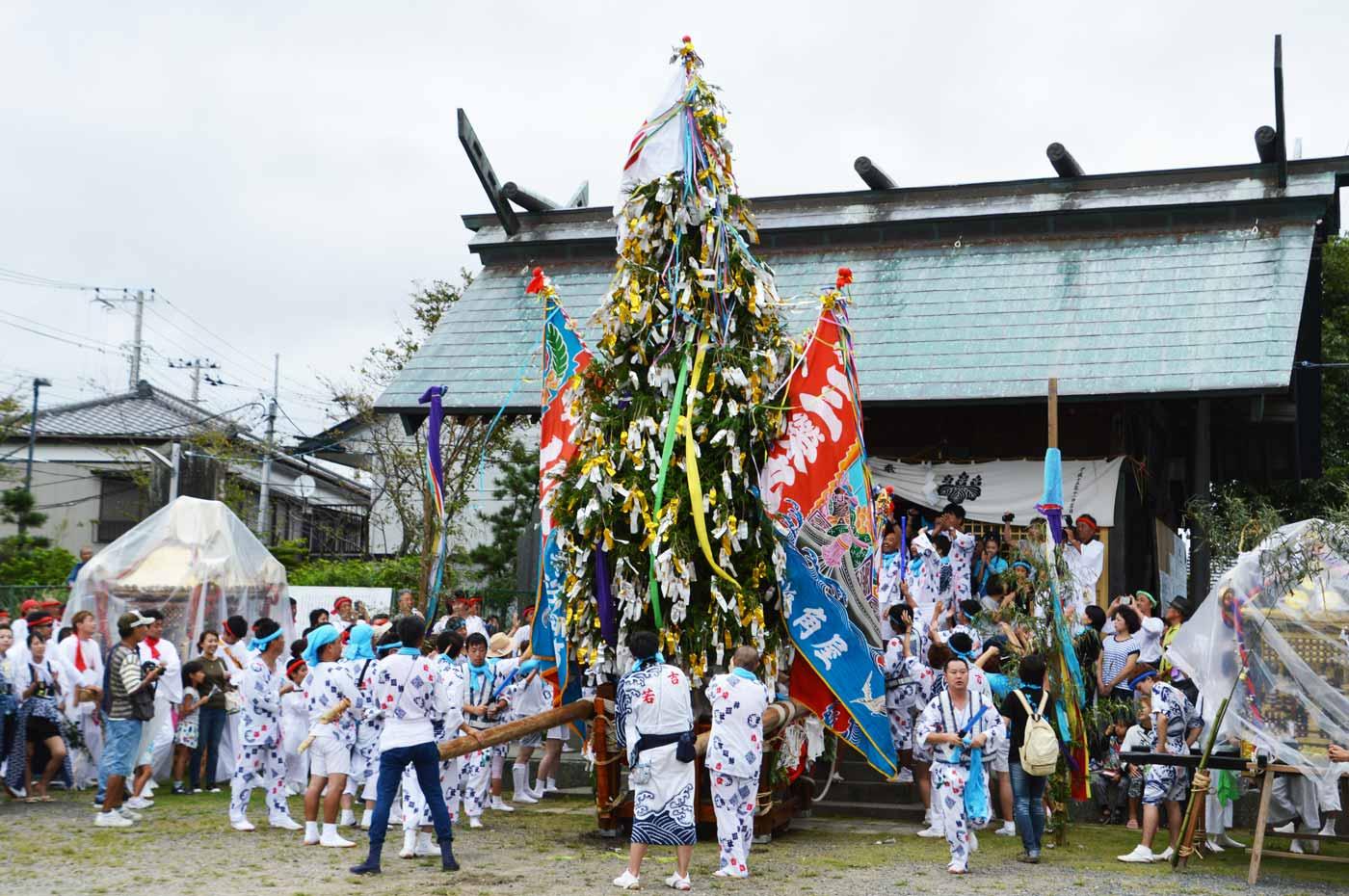 保田の祭り