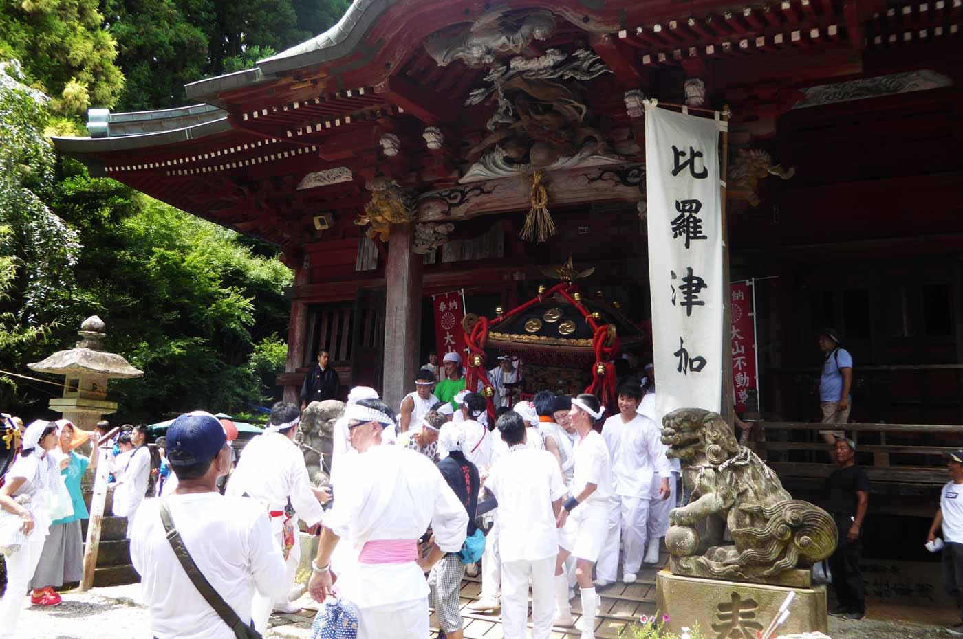 高蔵神社の祭り