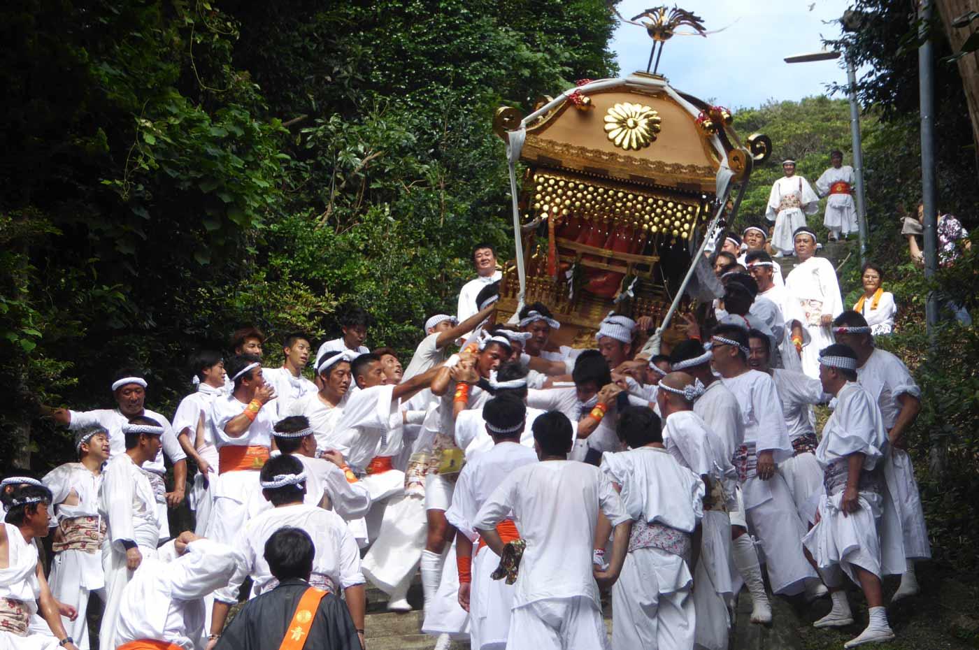 洲崎神社の祭り
