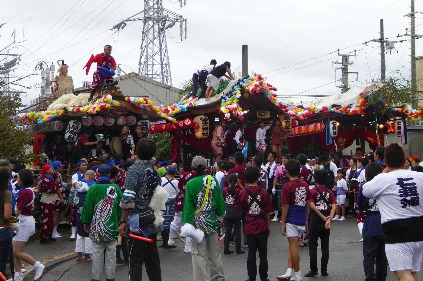 和田の祭り
