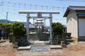 日枝神社の石宮