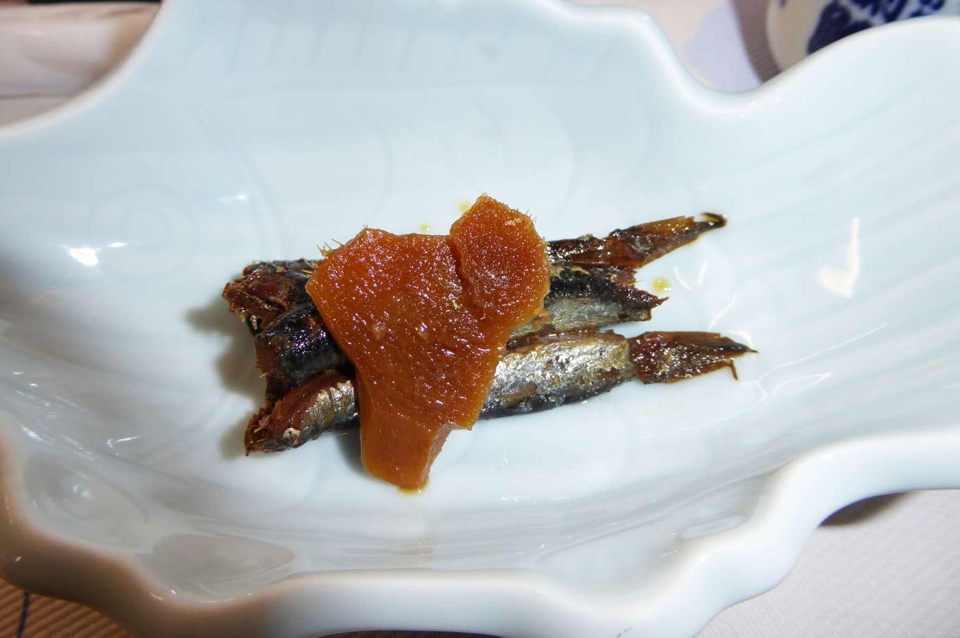 いわしの生姜煮の画像