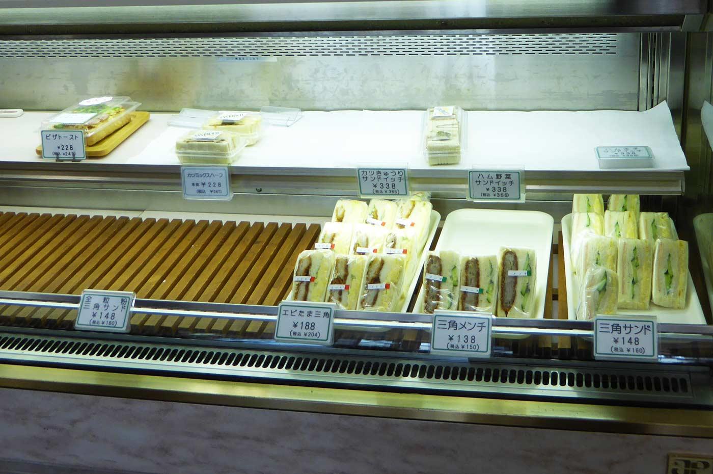 サンドイッチコーナー