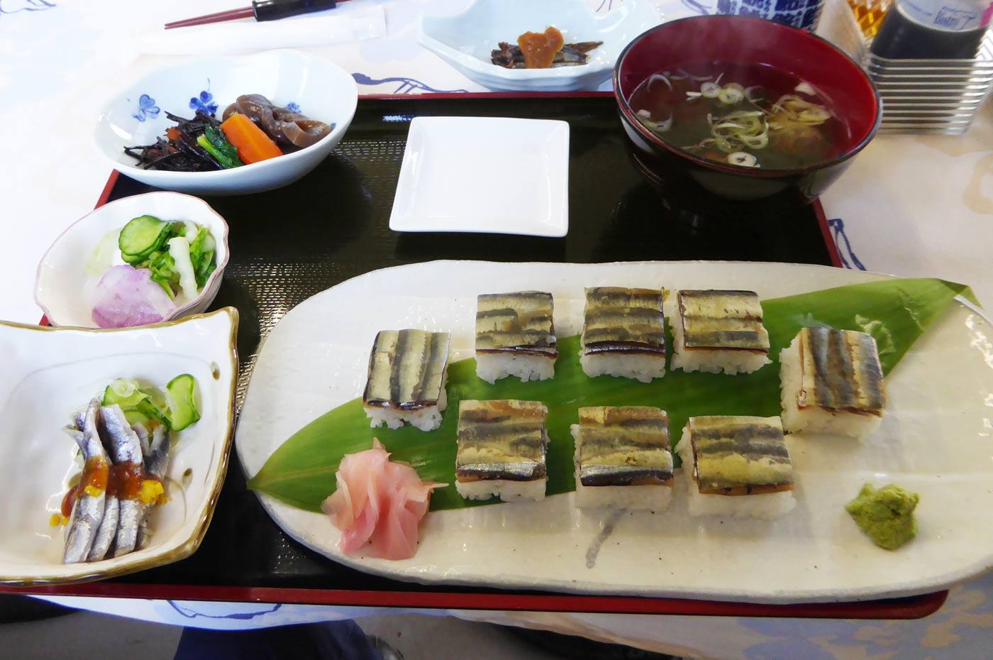 ひしこ押し寿司の画像