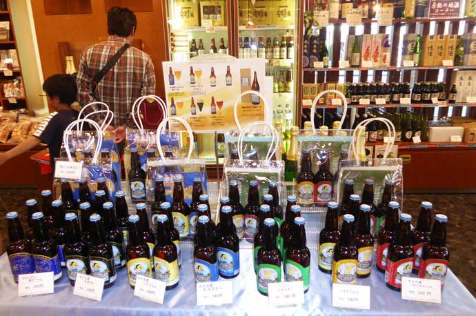 地ビール売り場