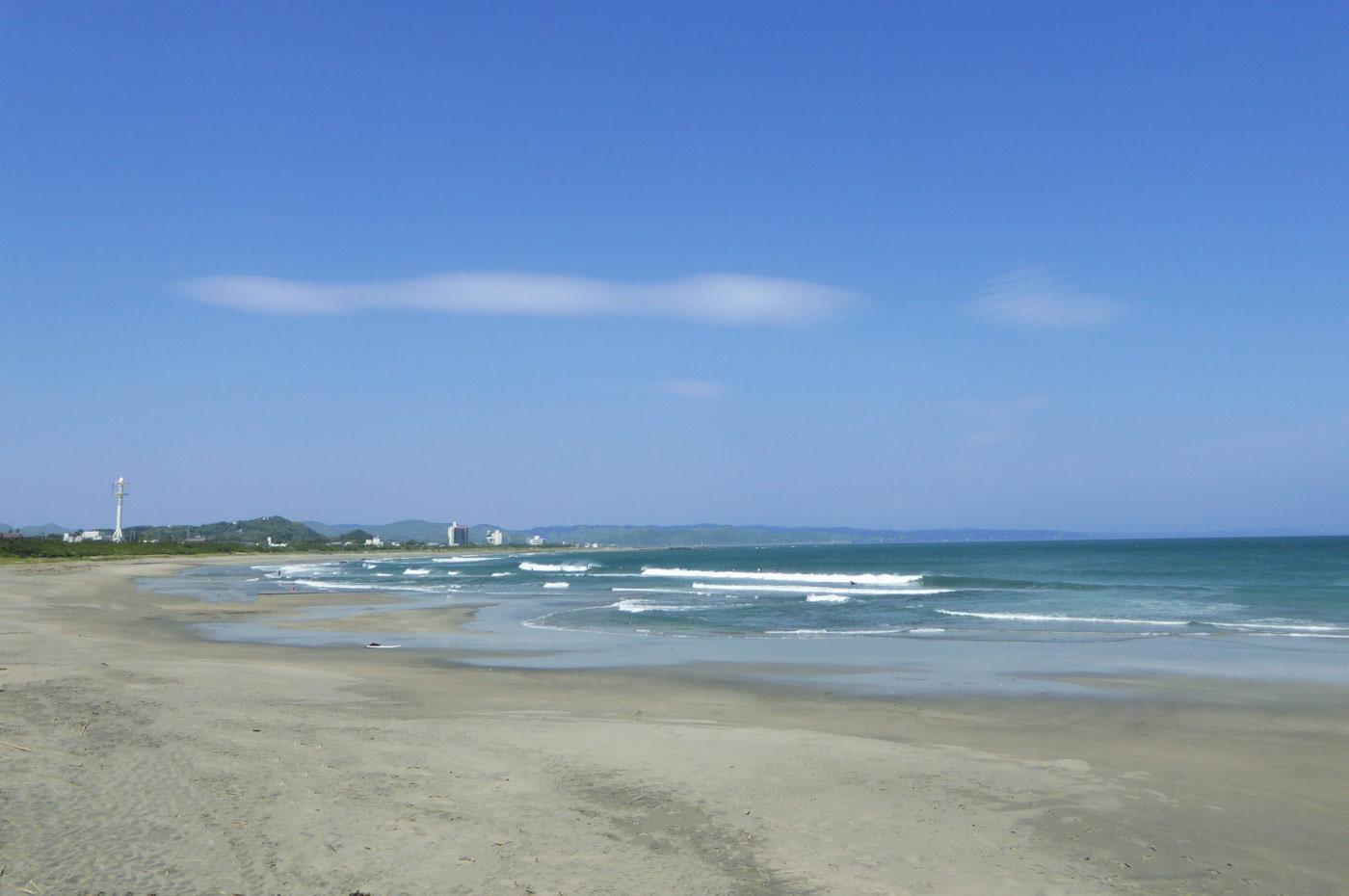 千倉海岸(和田方面)