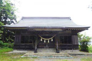 天満宮の拝殿の画像